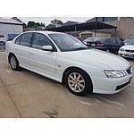 7/2003 Holden Berlina  VY 4d Sedan White 5.7L