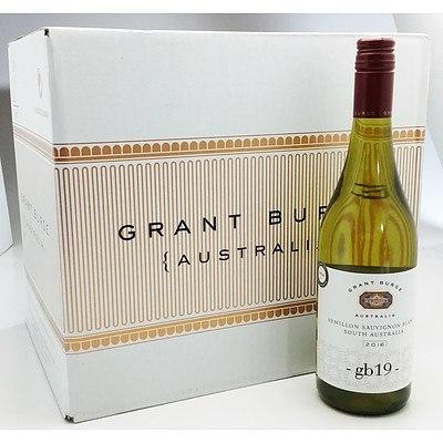 Case of 12x 750ml Bottles 2016 Grant Burge Semillon Sauvignon Blanc - RRP $120.00