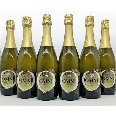 Case of 6x 750ml Bottles Omni Classic Sparkling NV - RRP $90.00