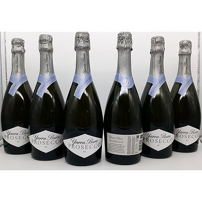 Case of 6x 750ml Bottles Yarra Burn Prosecco NV - RRP $120.00