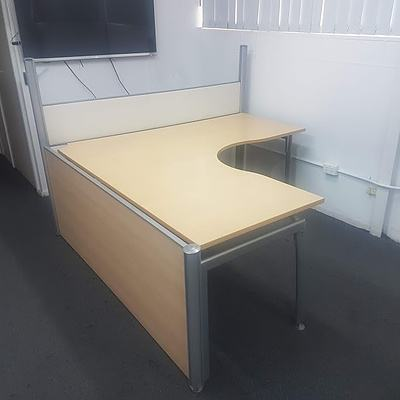 Laminate Corner Office Desk