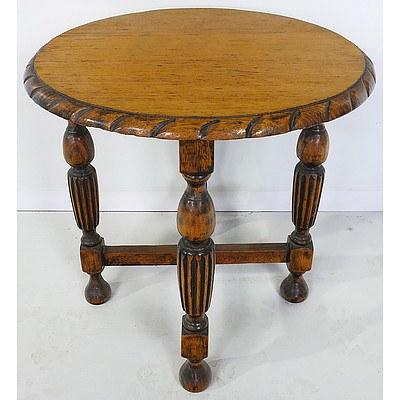 Antique English Oak Low Table