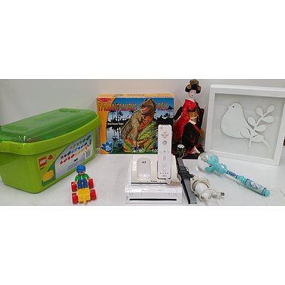 Nintendo Wii Gamecube Gaming Console, Lego Bricks, Toys and Homeware