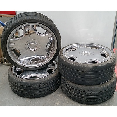 Set Of Four Dolce 19 Inch Alloy Wheels With Tyres