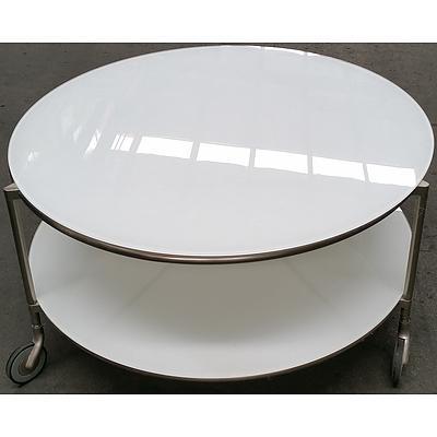 Art Deco Mobile Coffee Table