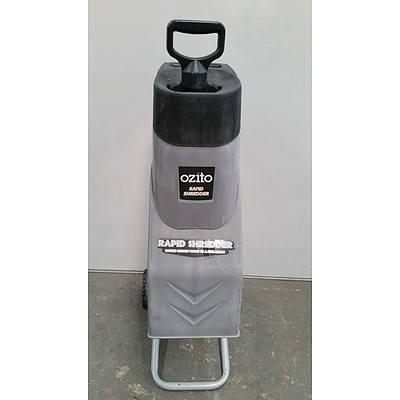 Ozito 2400 Watt Garden Shredder