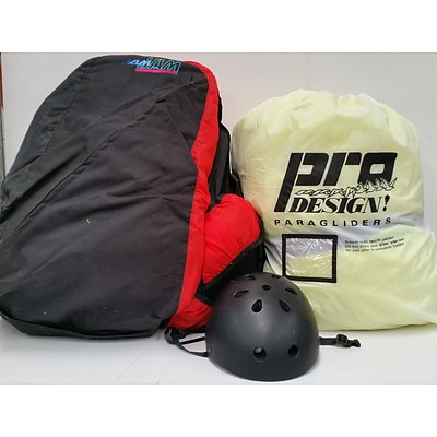 Pro Design Paraglider and Accessories
