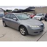 1/2005 Mazda Mazda6 Limited GG 4d Sedan Grey 2.3L
