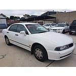 11/1996 Mitsubishi Magna Altera TE 4d Sedan White 2.4L