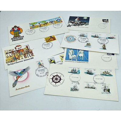 Various Collectable Stamps Including 1980 First Day Covers and Christmas Stamp Packs for 1979 and 1984