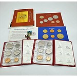 Four Royal Australian Mint Uncirculated Coin Sets