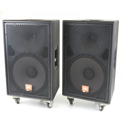"Pair of JBL MPro MP415 15"" Passive Speakers"