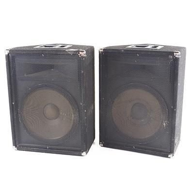 Pair of Foldback Speakers
