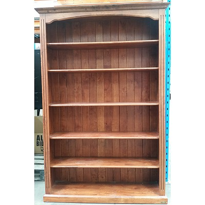 Dark Oak Veneer Bookshelf