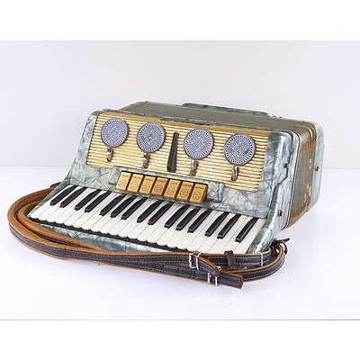 Scandalli Piano Accordian with Case