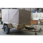 1977 6 x 4 Enclosed Trailer