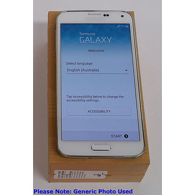 Samsung Galaxy S5 SM-G900I 4G Touchscreen Mobile Phone