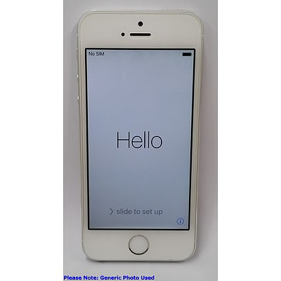 Apple (A1530) 4-Inch GSM Silver 16GB iPhone 5s