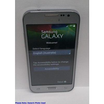 Samsung Galaxy Core Prime (SM-G360G) LTE Silver Touchscreen Mobile Phone