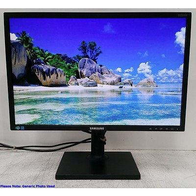 Samsung (S22C450BW) 22-Inch Widescreen LED-backlit LCD Monitor