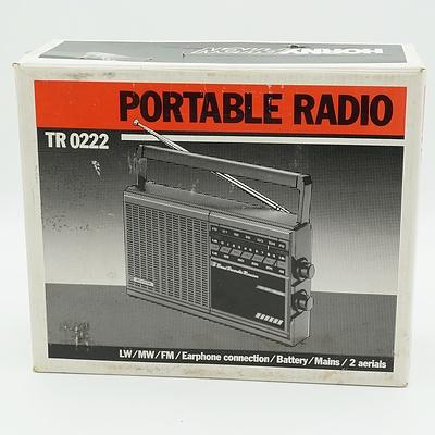Hornyphon Portable Radio TR 0222