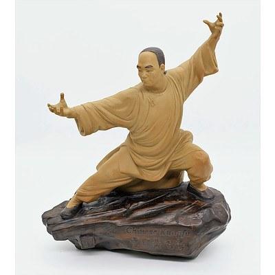 Chinese Kungfu Mud Man Figure