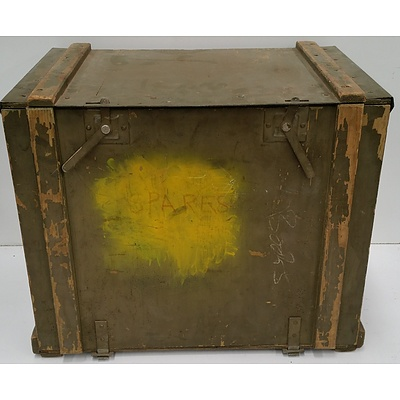 Vintage Military Transport-Storage Case
