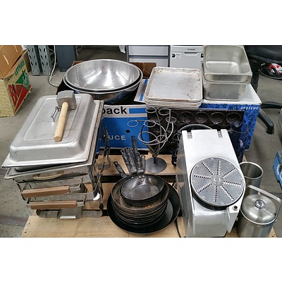 Collection of Commercial Hospitality Food Preparation, Cooking and Service Equipment