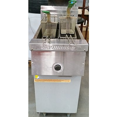 Frymaster Stainless Steel Natural Gas Deep Fryer