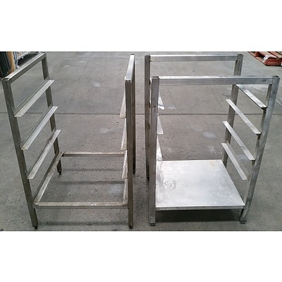 Commercial Stainless Steel Stands - Lot of Two