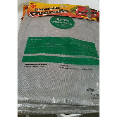 Tyvek Disposable Overalls and Water Proof Coveralls