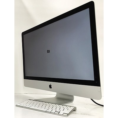Apple A1419 27 inch Core i7 -3770 3.4GHz iMac Computer
