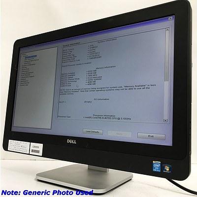 Dell Optiplex 9020 23 inch Core i5 -4670S 3.1GHz AIO Computer