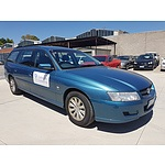 5/2005 Holden Commodore Acclaim VZ 4d Wagon Blue 3.6L