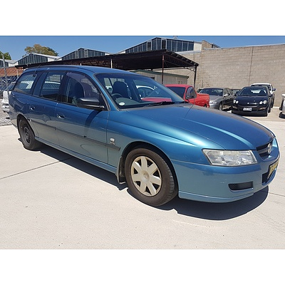 3/2004 Holden Commodore Executive VZ 4d Wagon Blue 3.6L