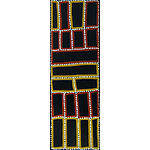 TJAPALTJARRI, Walala (b.1960) Tingari Cycle, 2000. Certificate of authenticity from Ancient Earth Indigenous Art, cat GOND01 0019/4097 Acrylic on Linen