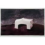 WHITE, Clarissa Jane, Tent at Night, 2001 Watercolour & Gouache