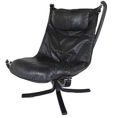 Vintage Scandinavian Falcon Chair