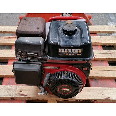 Briggs & Stratton 6Hp Motor with Davey Firefighter Single impeller pump