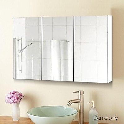 900 x 720mm Bathroom Vanity Mirror With Cabinet - New Open