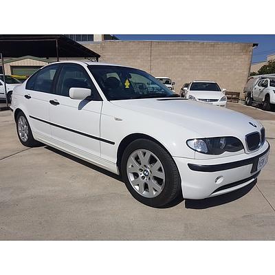 4/2003 Bmw 3 18i E46 4d Sedan White 2.0L