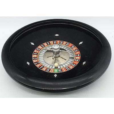 Italian Roulette Wheel