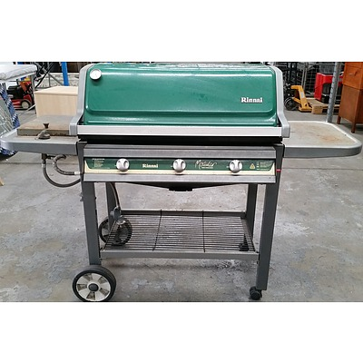 Rinnai Three Burner Gas Barbecue