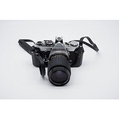 Olympus OM-2 Camera Plus A Minolta Dynax Spxi