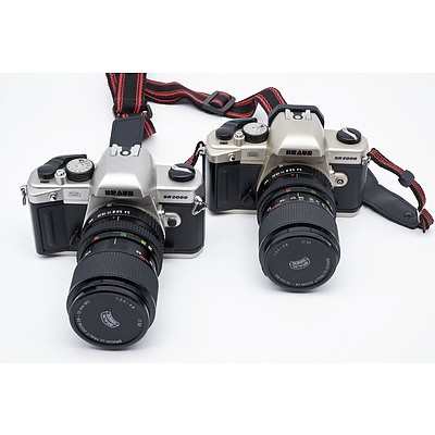 Two German Braun SR2000 Cameras