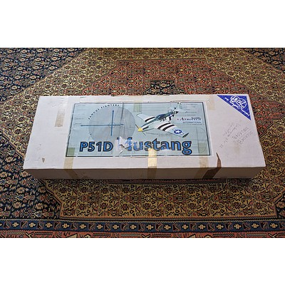 Mustang P51D Balsawood Model Aircraft Kit Complete Made in Germany