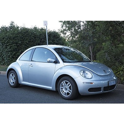 1/2007 Volkswagen Beetle Miami 9C MY06 UPGRADE 3d Hatchback Silver 1.6L