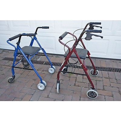 Two Wheelie Walkers