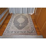 Persian Tabriz Hand Knotted Wool Pile Rug