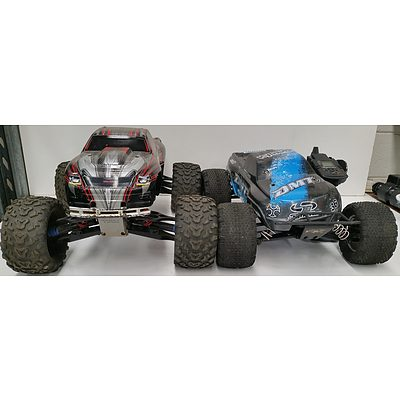 Remote Controlled Monster Trucks - Lot of Two